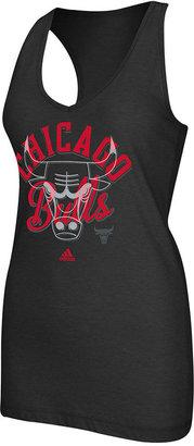 adidas Women's NBA T-Shirt, Chicago Bulls V-Neck Racerback Tank Top