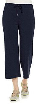 Jones New York Sport Navy Cropped Pant
