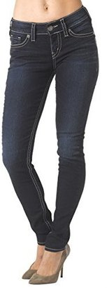Silver Jeans Women's Suki Skinny Jean $69 thestylecure.com