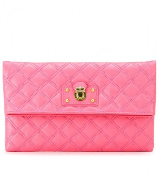 Marc Jacobs LARGE QUILTED EUGENIE LEATHER CLUTCH