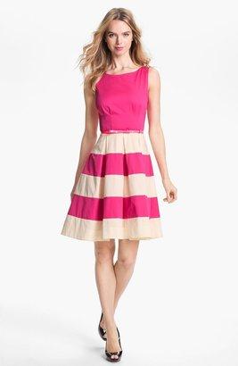 Kate Spade 'celina' Stretch Cotton Fit & Flare Dress