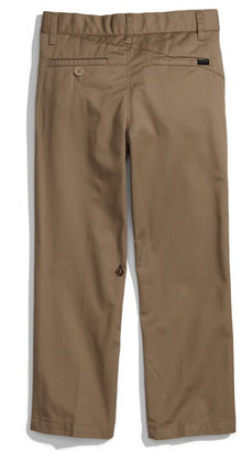 Volcom 'Modern' Chinos (Little Boys)