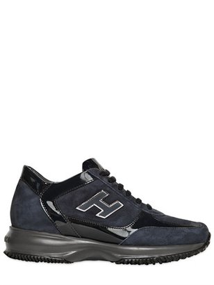 Hogan 60mm New Interactive H Suede Sneakers