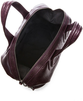 Givenchy Medium Nightingale Grainy Leather in Aubergine