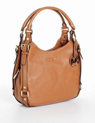 MICHAEL Michael Kors Bedford Medium Leather Shoulder Tote Bag