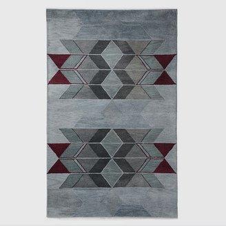 west elm Alyson Fox Chevron Wool Rug