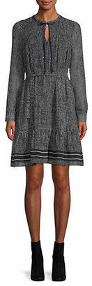 Marella Battito Houndstooth Dress