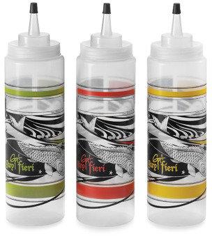 Bed Bath & Beyond Guy Fieri 16-Ounce Plastic Squeeze Bottles - Set of 3