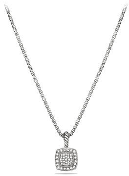 David Yurman Petite Albion Pendant with Diamonds on Chain