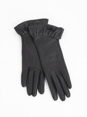 Hanii Y Leather Ruffle Glove