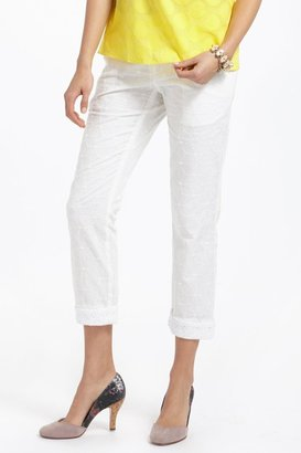 Anthropologie Skinny Stem Pants
