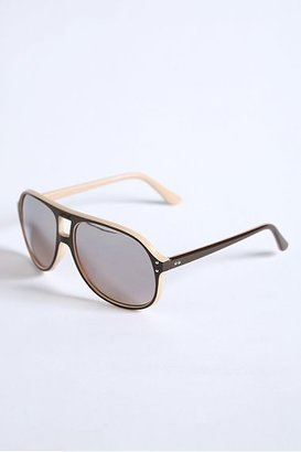 Urban Outfitters Two Tone Mirror Lens Aviators