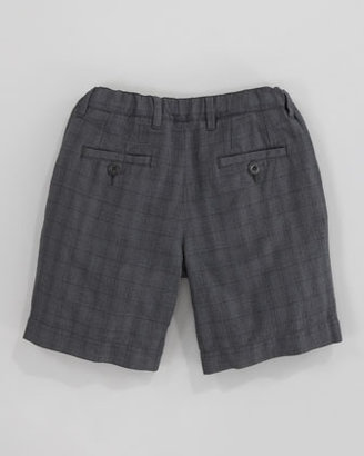 Dolce & Gabbana Checked Bermuda Shorts, Sizes 4-6