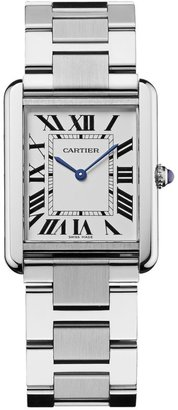 Cartier Tank Solo Large Stainless Steel Bracelet Watch