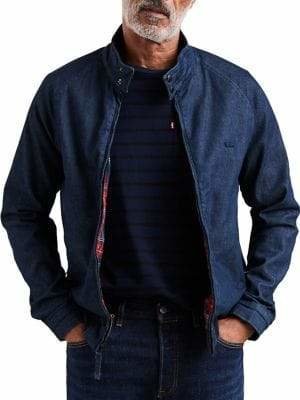 Levi's Stretch Harrington Denim Jacket