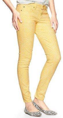 Gap 1969 Printed Always Skinny Skimmer Jeans