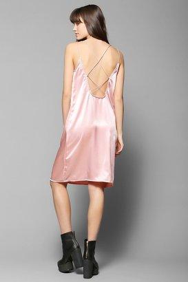 Motel Wren Satin Slip Dress