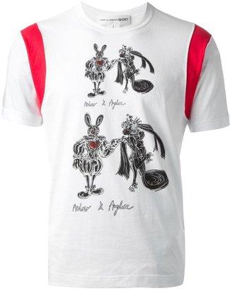 Comme des Garcons illustrative print T-shirt