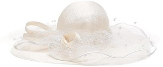 Brooks Brothers Netted Sinamay Straw Derby Hat