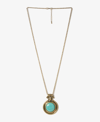 Forever 21 Broken Stone Necklace