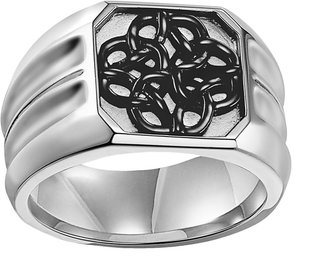 Triton AXL by Stainless Steel Celtic Knot Ring - Men