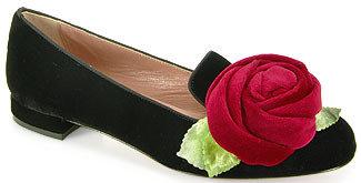 RED Valentino FQS00354 - Velvet Rose Loafer