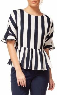 Dex Classic Striped Top