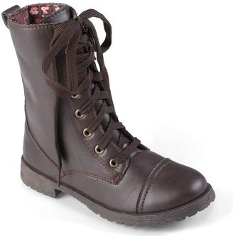 Journee Collection millie midcalf boots - girls