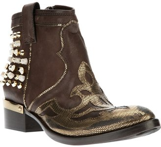 Baldan studded ankle boot