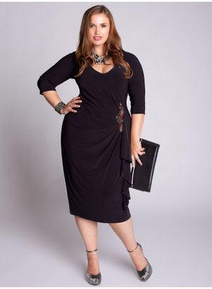 IGIGI Hayworth Plus Size Dress in Black