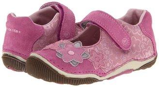 Stride Rite SRT Shaelyn (Toddler) (Pink/Silver) - Footwear