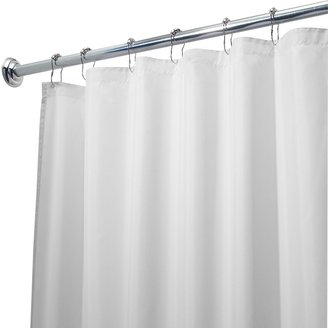 InterDesign Waterproof Fabric Shower Curtain Liner - 72'' x 96''