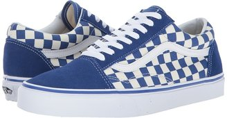 Vans - Old Skooltm True Blue/White) Skate Shoes $55 thestylecure.com