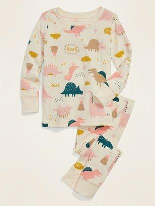 Old Navy Dinosaur Pajama Set for Toddler Girls & Baby