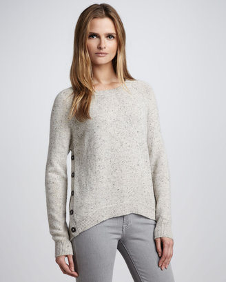 Autumn Cashmere Hi-Lo Cashmere Sweater