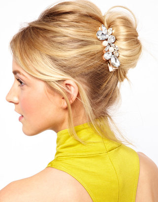 Asos Limited Edition Pearl Hair Brooch