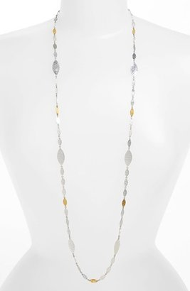 Gurhan 'Willow' Long Leaf Station Necklace
