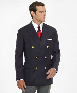 Brooks Brothers Country Club Double-Breasted Navy Blazer