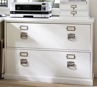 """Pottery Barn Bedford 41"""" 2-Drawer Lateral File Cabinet"""