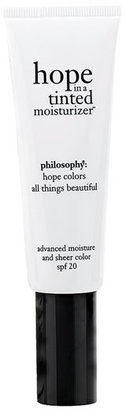 philosophy 'hope in a tinted moisturizer' advanced moisture and sheer color spf 20 Deep
