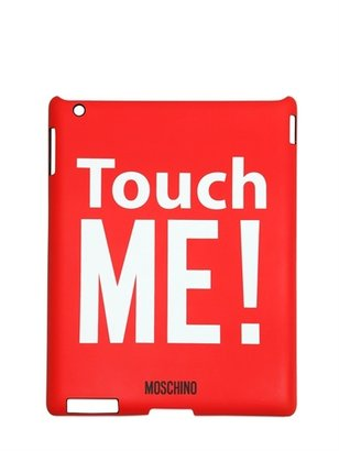 Moschino Touch Me Printed Rigid Ipad 2 Case