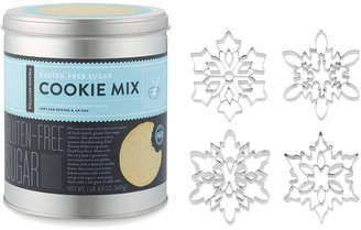 Williams-Sonoma Giant Snowflake Cookie Cutters & Gluten-Free Sugar Cookie Mix Gift Set