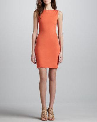 Alice + Olivia Tali Open-Back Dress