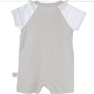 Little Giraffe Coco StripeTM Shortie Romper
