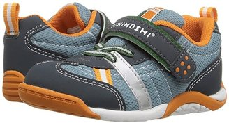 Tsukihoshi Kaz (Toddler/Little Kid) (Charcoal/Sea) Boy's Shoes