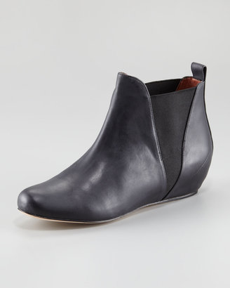 Elizabeth and James Sean Low-Wedge Ankle Boot
