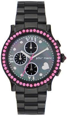 Betsey Johnson 'Bling Bling Time' Bracelet Watch