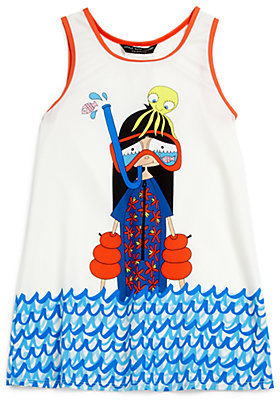 Little Marc Jacobs Toddler's & Little Girl's Snorkeling Miss Marc Coverup