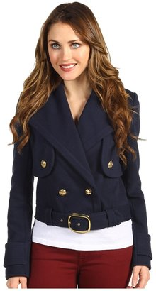Juicy Couture Marine Cropped Jacket (Regal) - Apparel