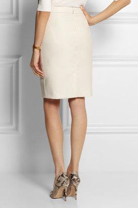 Stella McCartney Kelly wool-twill skirt